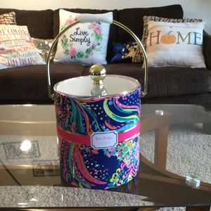 Lily Pulitzer Beach Loot 3 QT Ice Bucket NWT